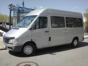 Аренда микроавтобуса с водителем 8-10 пасс.мест